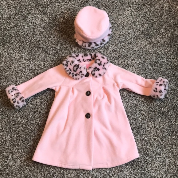 b4753a91 Sophie Rose Jackets & Coats | Gorgeous Girls Winter Pea Coat And Hat ...